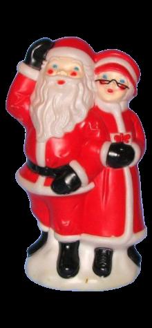 Merry Christmas Santa & Mrs. Claus photo