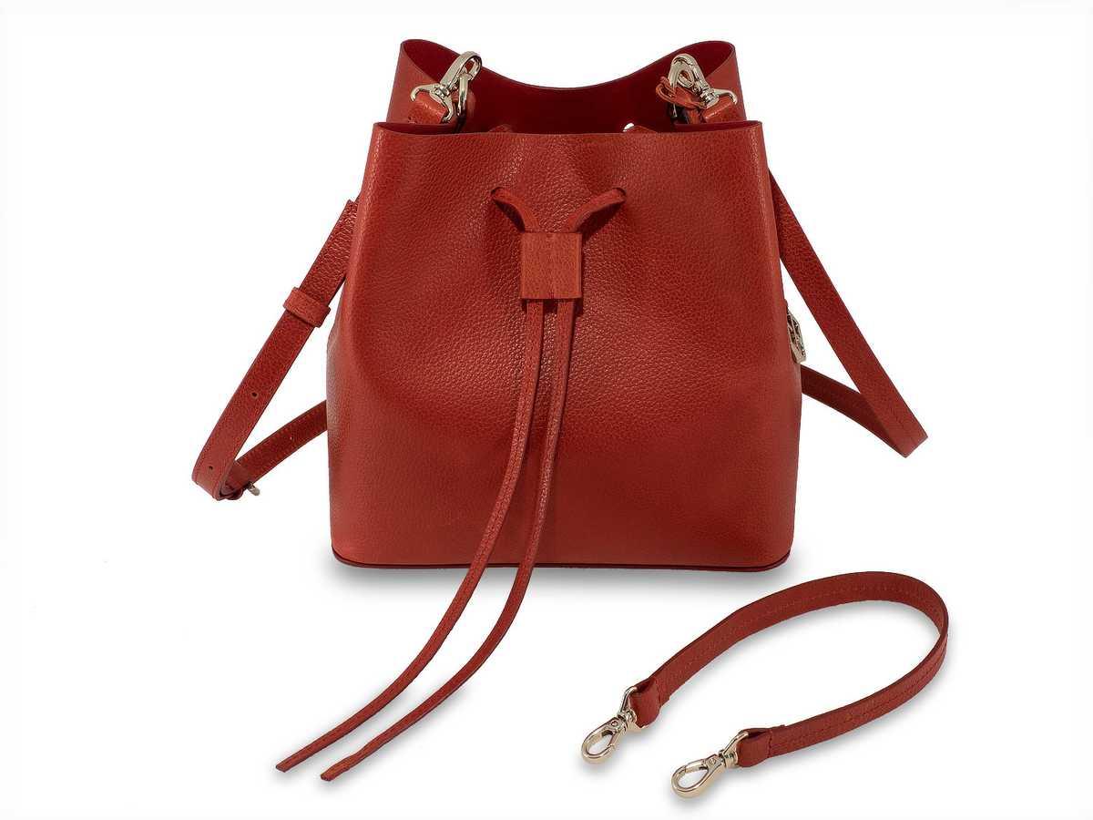 Alya Bucket Mini - ruby