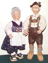 Karl and Hannah old German couple