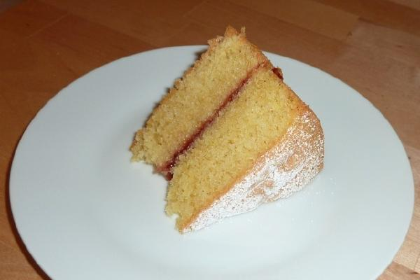 image from Easy Victoria Sandwich Recipe