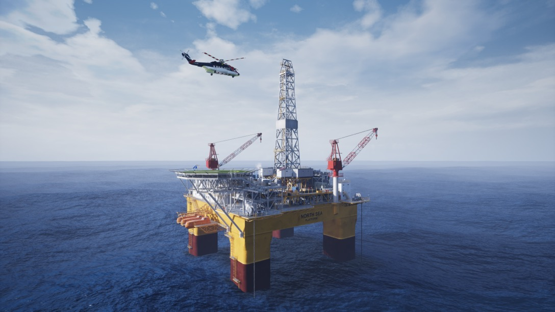 Interactive Oil Rig experience in Unreal Engine