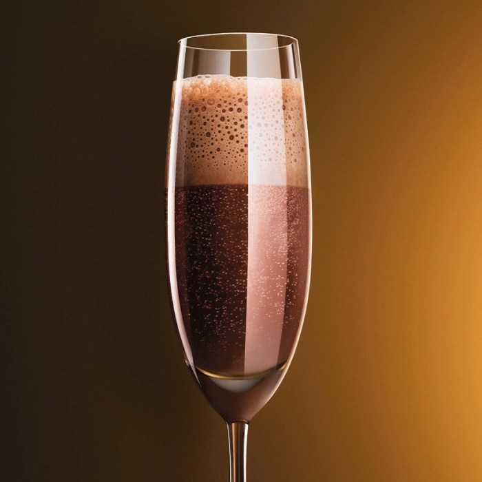 Chocolate Black Russian Cocktail