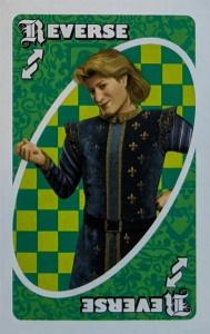 Shrek Green Uno Reverse Card