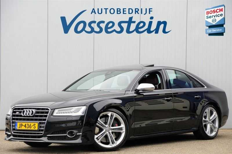 Audi S8 4.0 TFSI quattro Pro Line+ / B&O / Nightvision / Side- & Lane assist / Schuifdak / Head-Up afbeelding 9