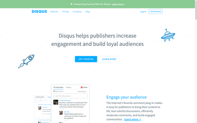 Create an account on Disqus.