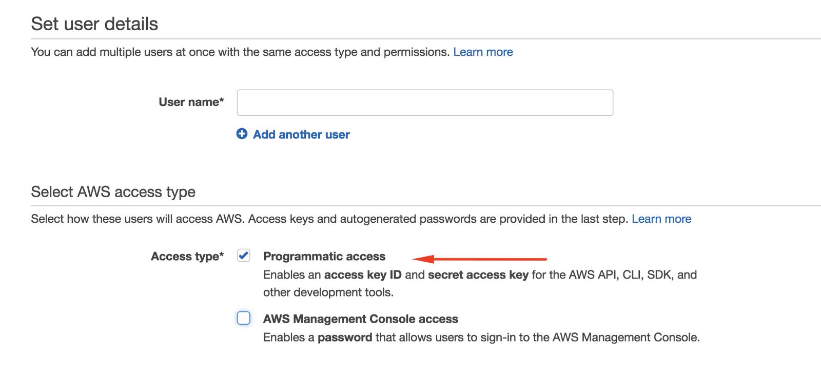 aws-iam-create-key-access