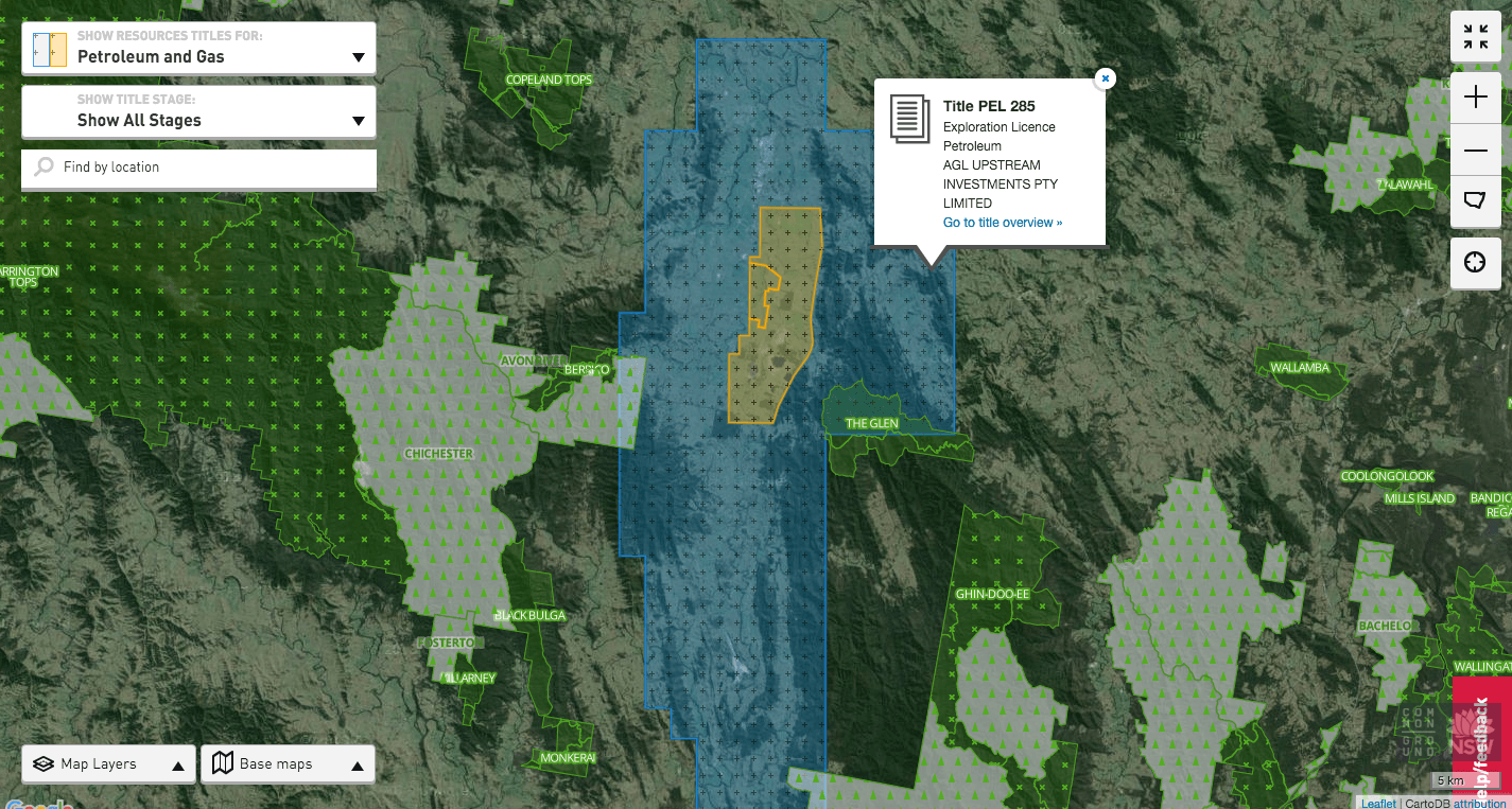 Gain better understanding of the impact of mining via different base maps