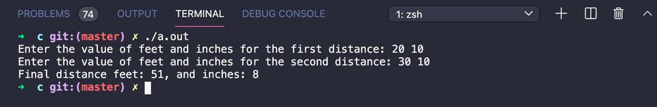 c add distances structure
