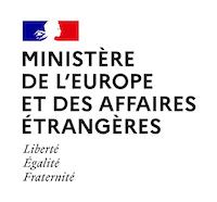 Logo de L'Atelier Numérique du Ministère de l'Europe et des Affaires Etrangères
