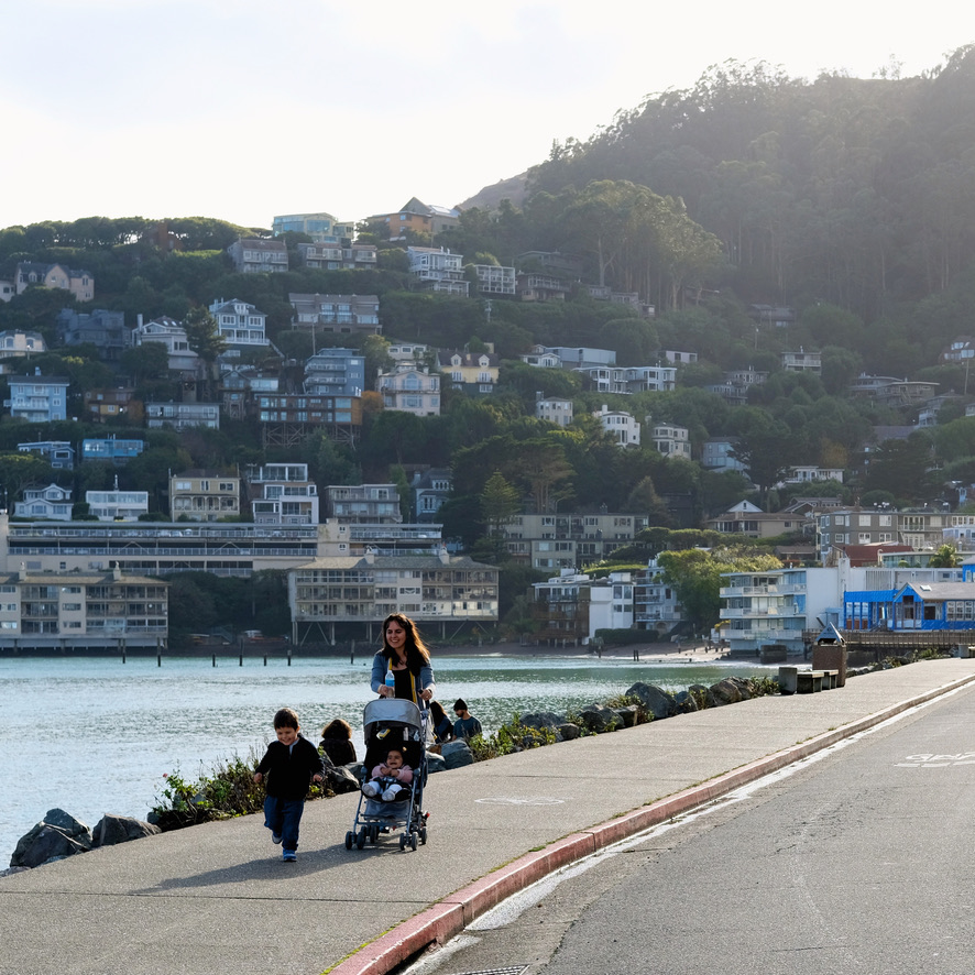 A weekend trip to Sausalito, CA.