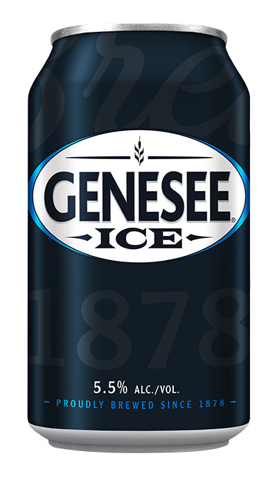 Genesee Ice can