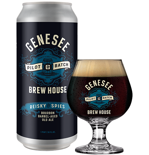 Genesee Bourbon Barrel-Aged Old Ale can