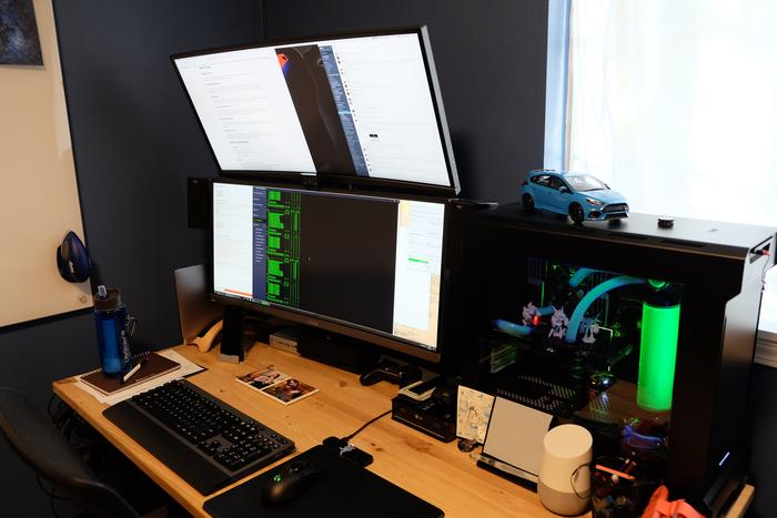 Computer Desk, Old Rig