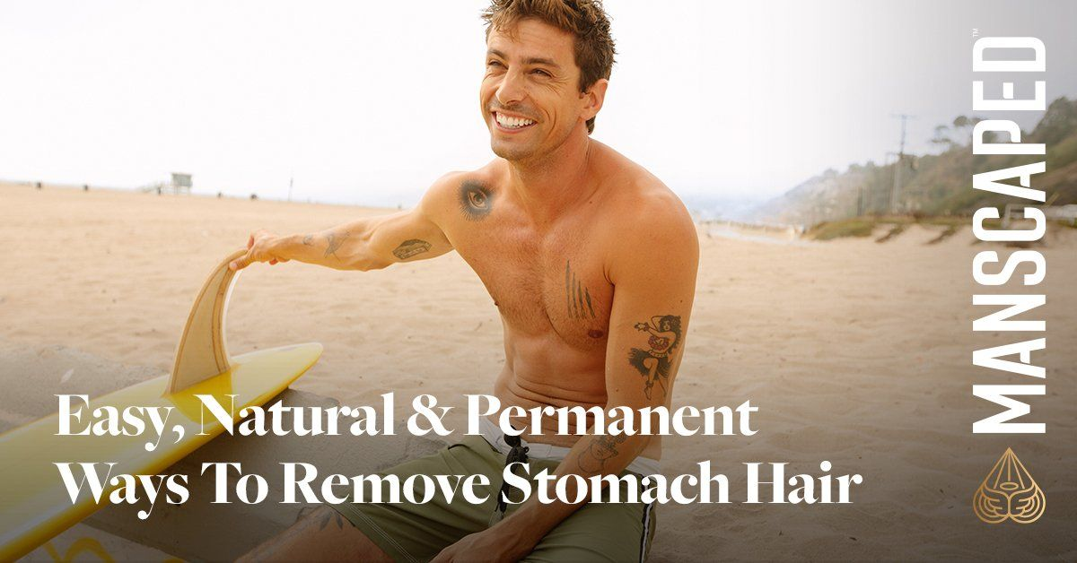 Easy, Natural & Permanent Ways to Remove Stomach Hair