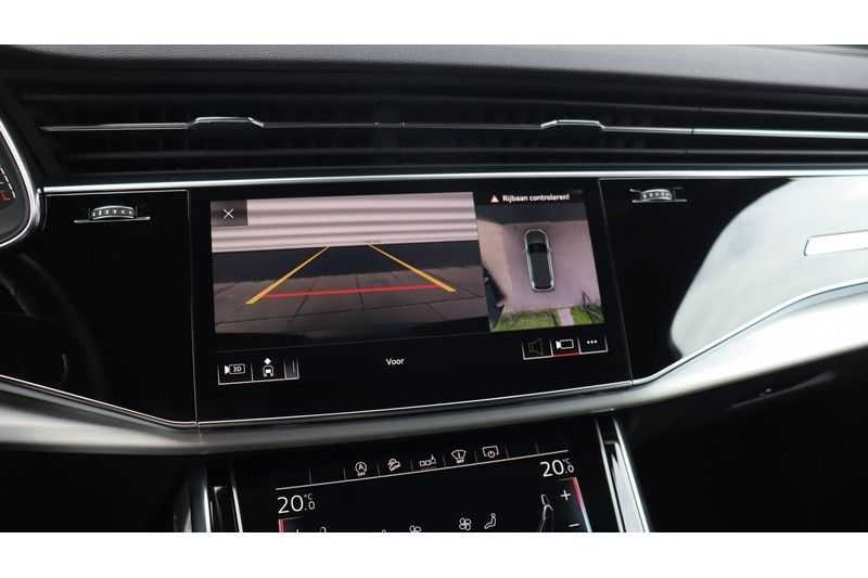 Audi SQ7 4.0 TDI 435pk quattro 7p Panoramadak, BOSE, Massage, Ruitstiksel, Trekhaak afbeelding 18