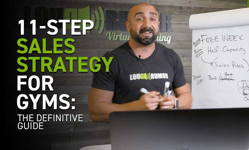 11-Step Sales Strategy For Gyms: The Definitive Guide