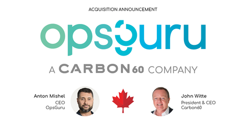 OpsGuru acquired by Carbon60, establishing an end-to-end Canadian Cloud Partner.