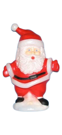 Singing Santa photo