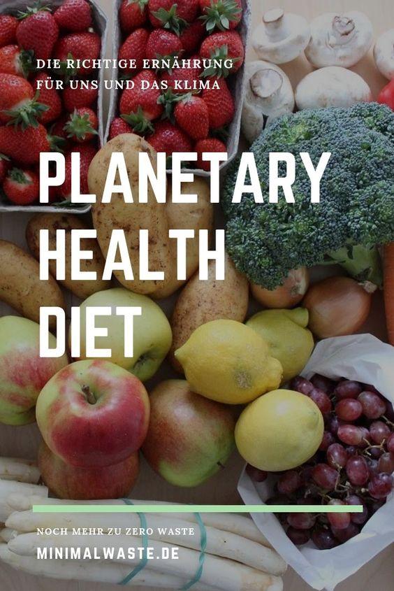 Pinterest Cover zu 'Planetary Health Diet: Die richtige Ernährung fürs Klima'