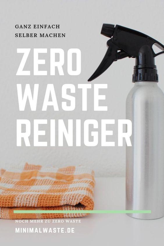 Pinterest Cover zu '4 nachhaltige Reiniger, die alles sauber bekommen'