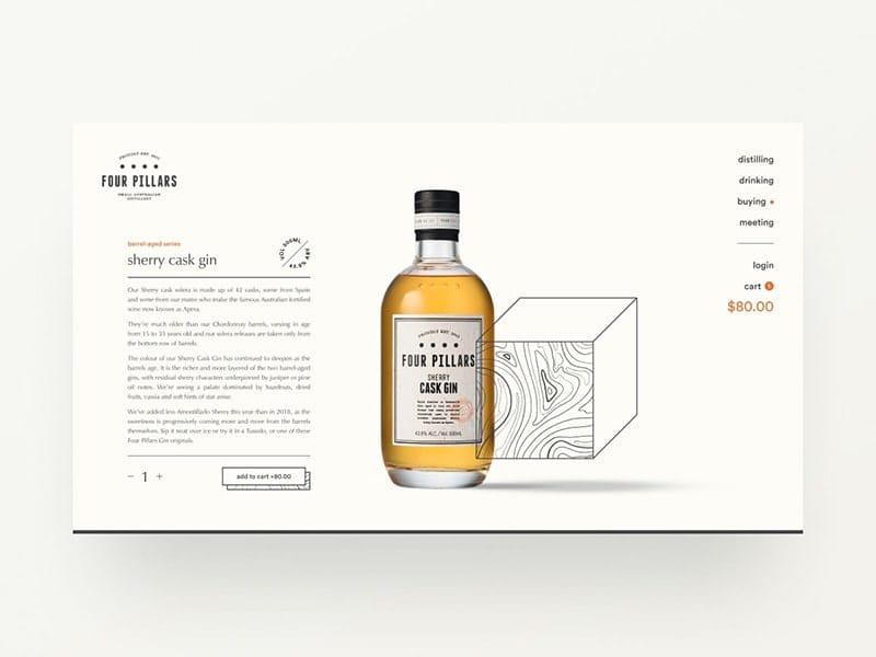 Gin distillery website exploration — part 04