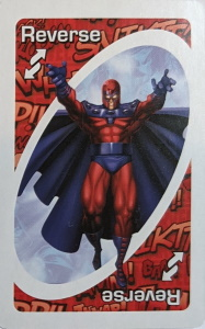 Marvel Heroes Red Uno Reverse Card