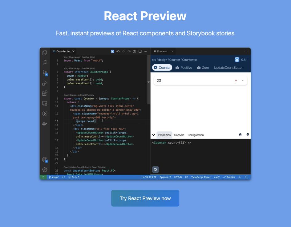 React Preview