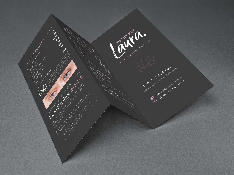 Salon Branding Leaflet