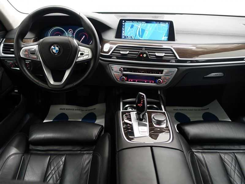 BMW 7 Serie 740D xDrive 320pk Individual M-Sport Aut8 Leer, 360 Camera, Full, 54 dkm afbeelding 2