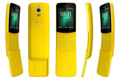 Vues du Nokia 8110 4G