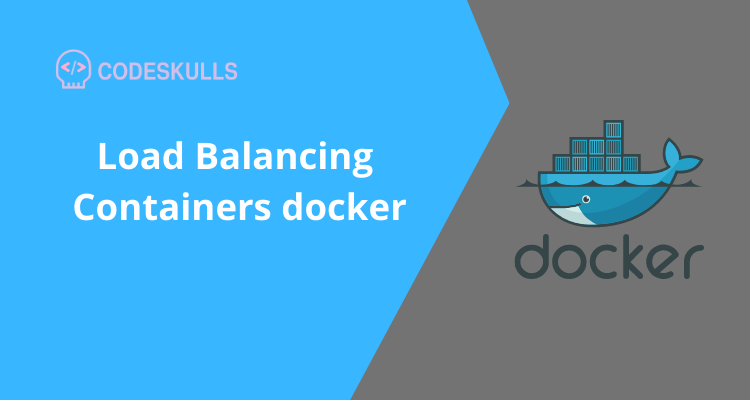 Load Balancing Containers docker