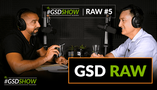 RAW #5: Mark Richardson: The Fitness Studio Membership Sales Guru | The GSD Show