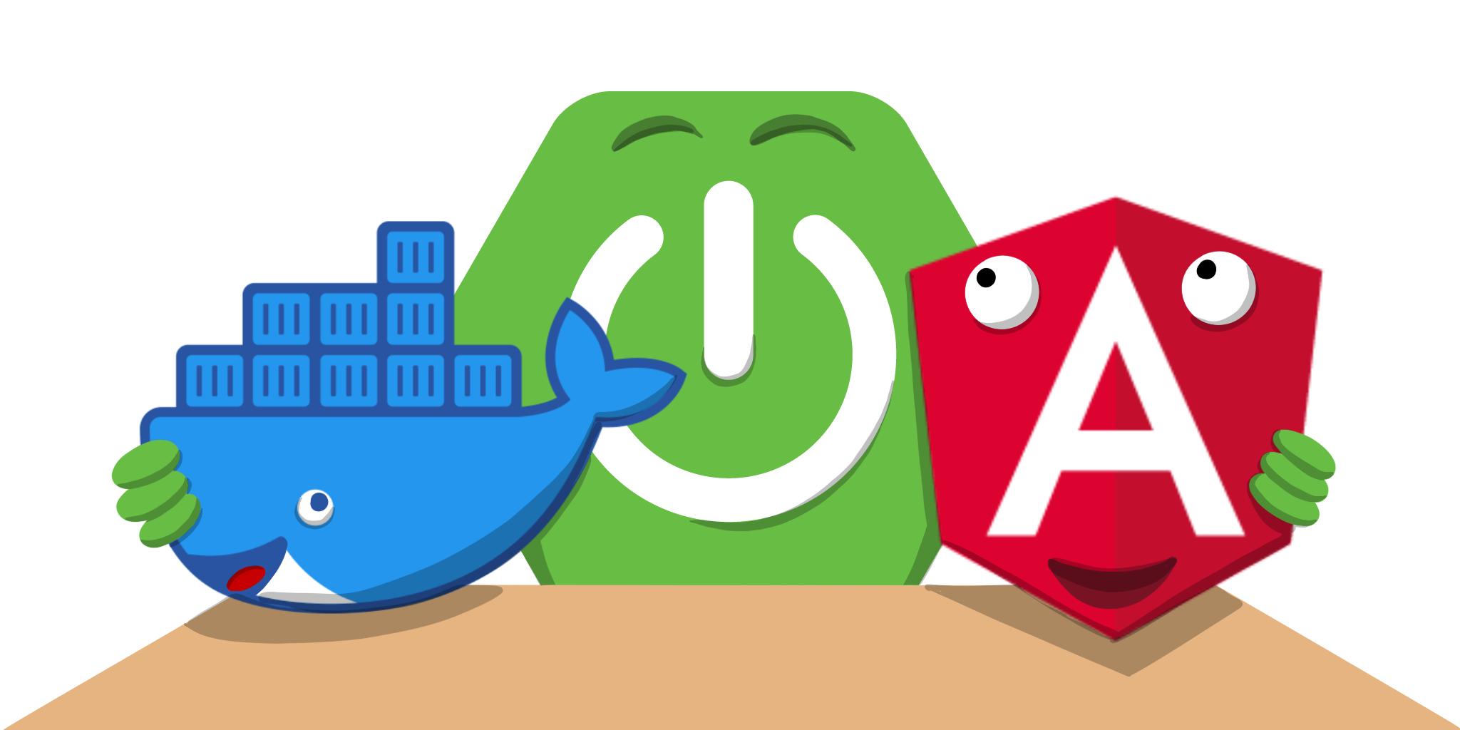 Angular + Docker with a Big Hug from Spring Boot