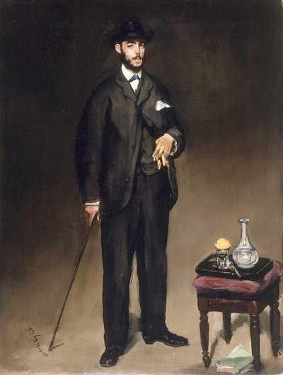 Édouard Manet's Portrait of Théodore Duret in 1868