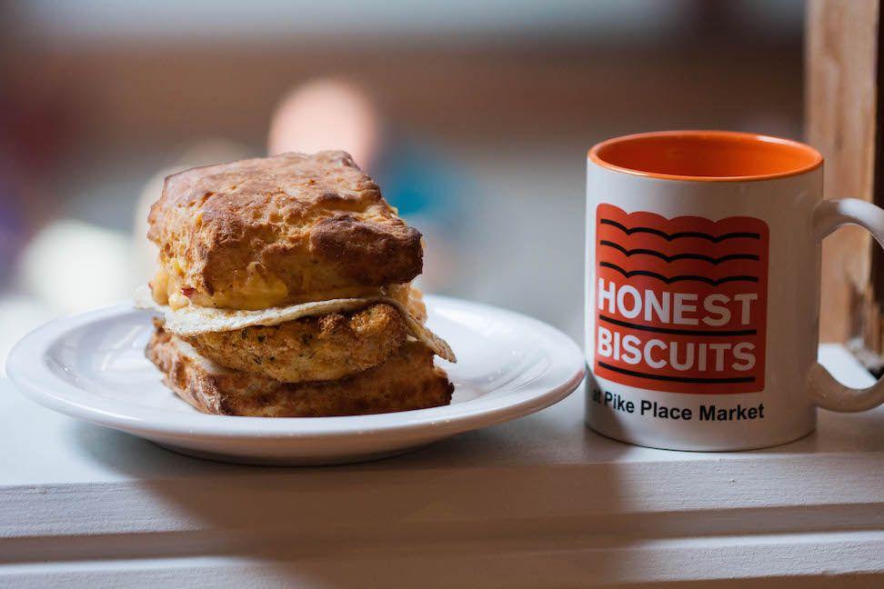 Chicken Biscuit with Mug