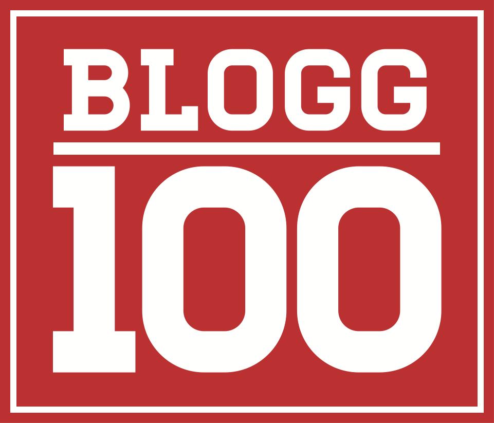 Logotyp Blogg100