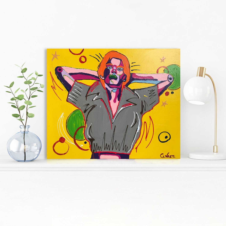 'Jagger' Original Painting