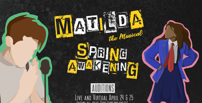 featured image thumbnail for post Auditions for Matilda & Spring Awakening!