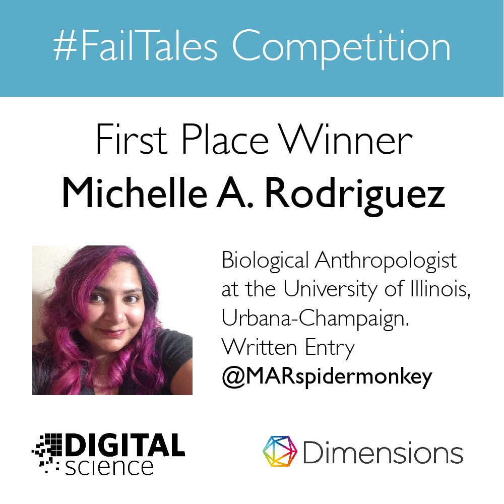 #failtales contest first prize winner anouncement graphic