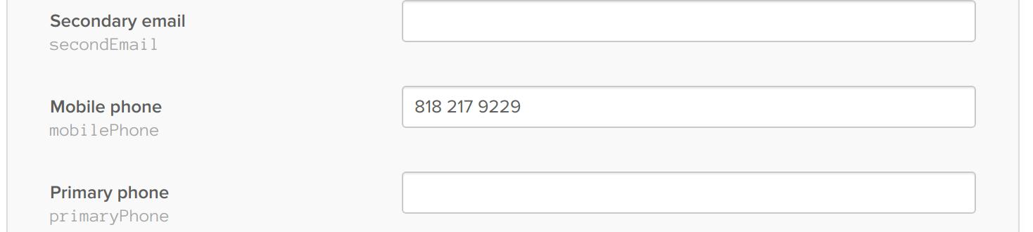 Okta Phone Number