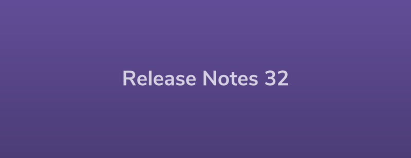 Esper Release Notes – Dev Rel 32