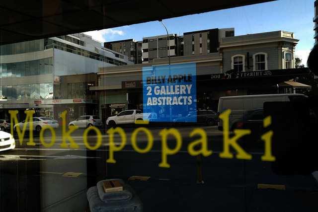 Fumes - Billy Apple at Mokopopaki - photo by ROKMA