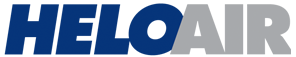 The logo of HeloAir