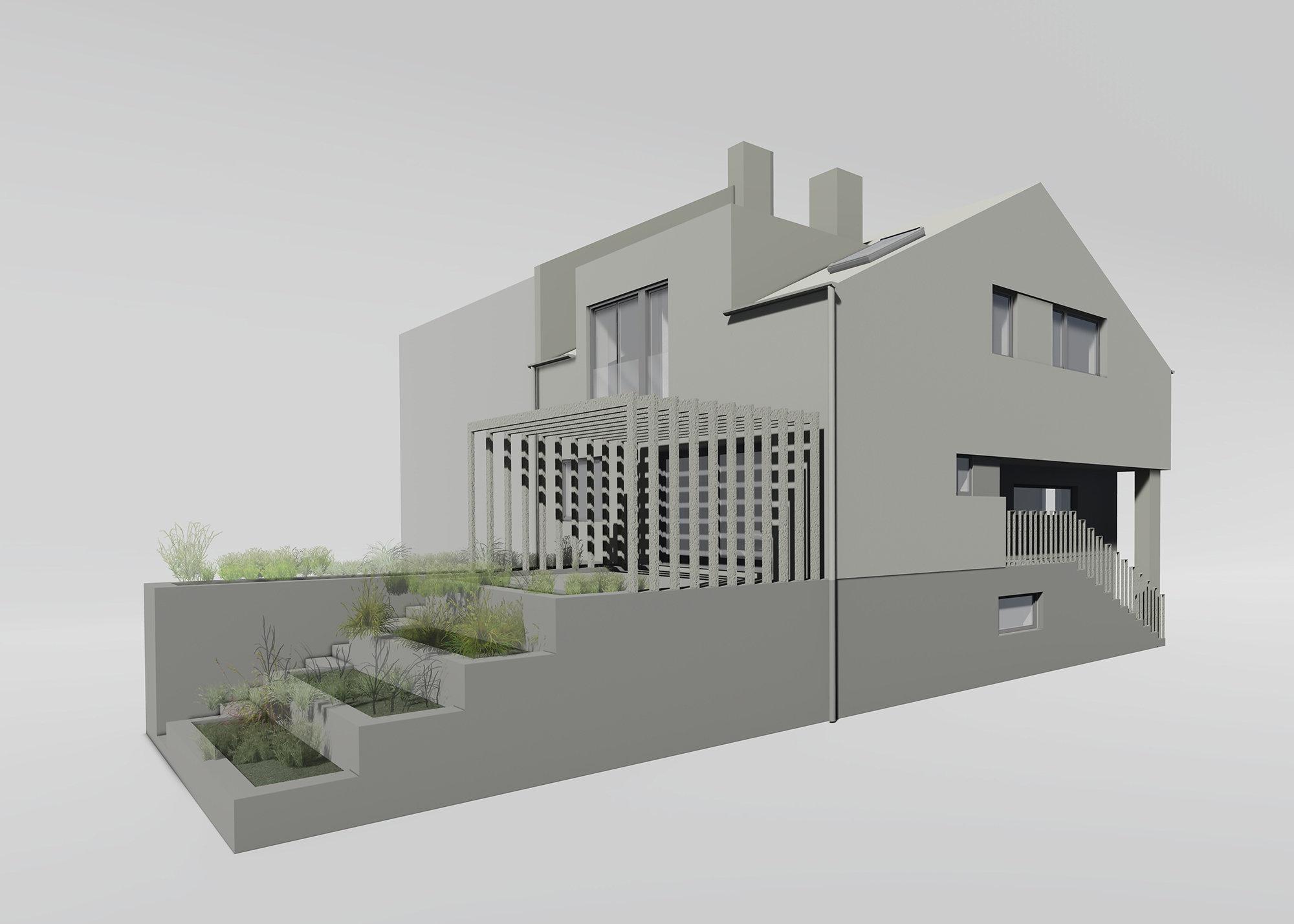 Projekt - Obiteljska kuća G
