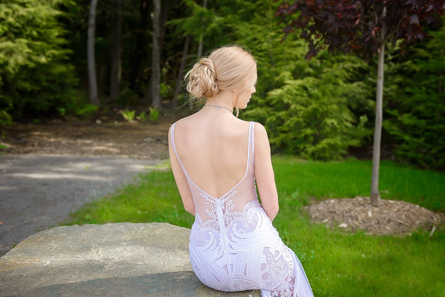 wedding dress montreal designer lace haute couture