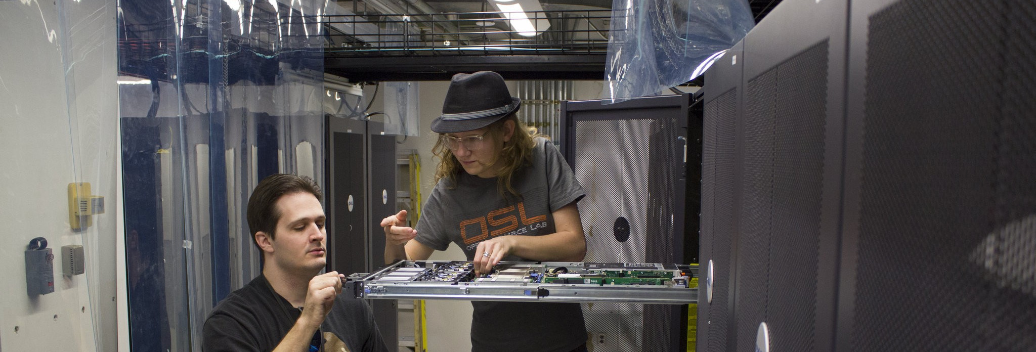 opening up a server in the OSL datacenter