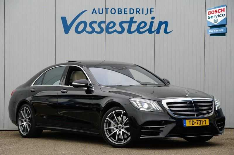 Mercedes-Benz S-Klasse 560 4Matic Lang Premium Plus 470pk / AMG / Nwpr: E186.000,- / Full Options! afbeelding 21