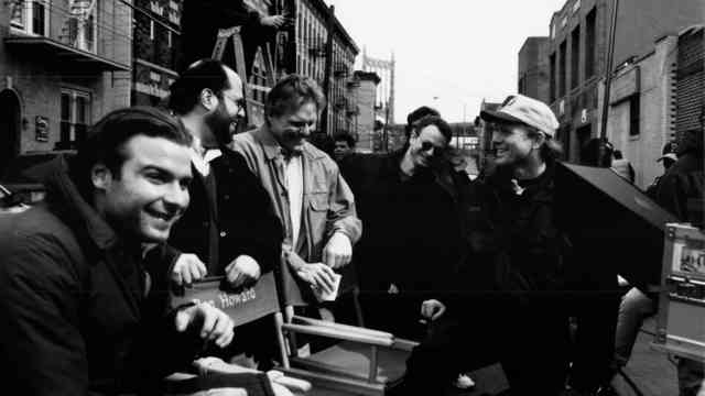 On the set of Ron Howard's Ransom, 1996