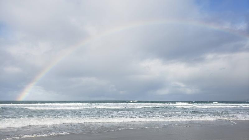 Beachy rainbow