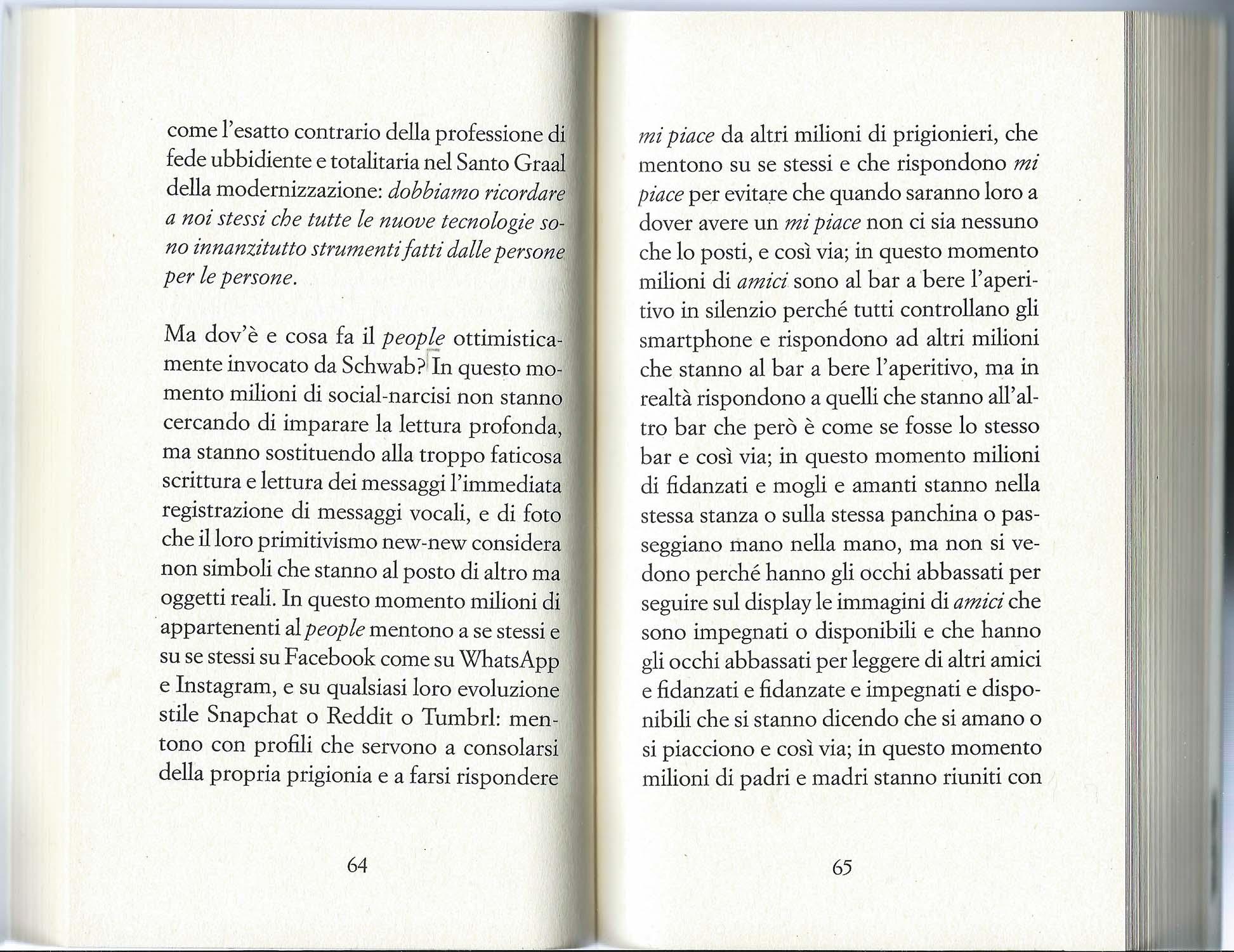 la scansione di due pagine di *Come diventare Vivi - Vademecum per lettori selvaggi* di Giuseppe Montesano